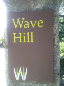 Wave Hill Entrance (photo taken 08 24 2014)